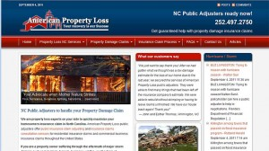 American Property Loss Website
