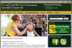 New DowntownClayton.org Website