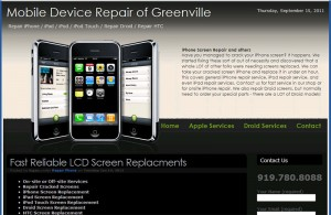 iPhoneRepairGreenvilleNC.com
