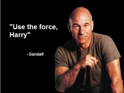 Use the force Harry!