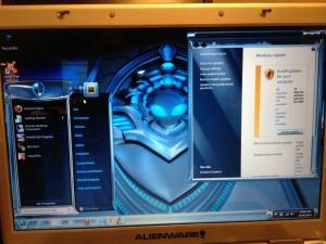 Alienware 5500i-R3 running AlienGUIse